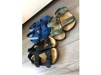 Boys size 8 sandals