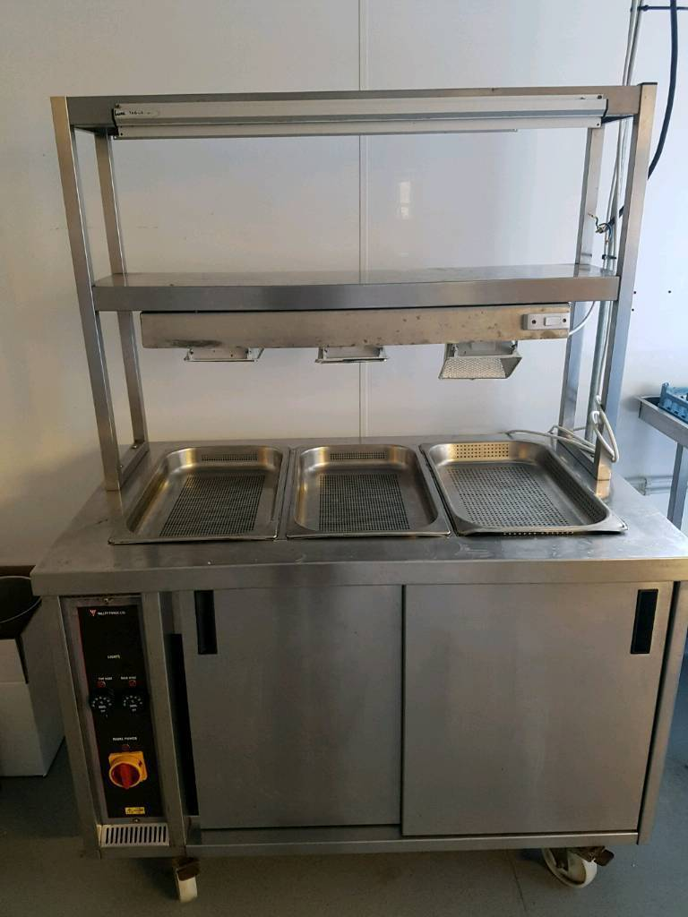 Valley Forge Bain Marie Hot Cupboard & heated Gantry