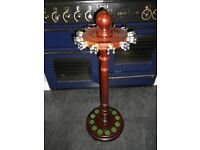 ***** BARGAIN - RACK 2 of 2 Antique Vintage Cue Stand/Rack Snooker Billiards Pool only £125 *****