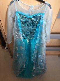 Disney Girls Elsa dress up world book day
