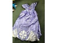 Princess Sofia Dressing up Dress 7/8Y