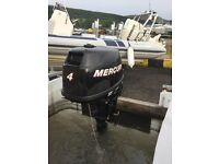 4HP Mercury outboard engine