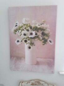 Beautiful Large Floral Canvas Picture