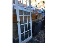 **SSTC** 2 internal glass doors (1950 x 760 x 35)