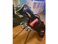 Full Golf Club Set - Callaway RAZR X with Bag (D, 3W, Putter, 4-9 Irons + P)