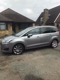 Peugeot 5008 for Hire, 7 seater Uber XL READY