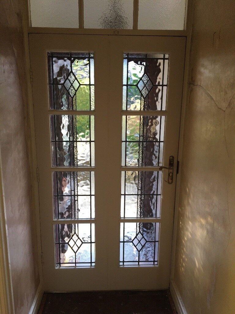 Leaded Glass Interior Door In Prestatyn Denbighshire Gumtree