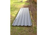 Steel roof sheets