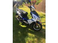 2016 Lexmoto FMR 50cc 238 miles from new!!!