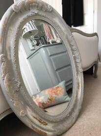 LOVELY FRNCH CHIC STYLE GREY MIRROR
