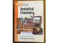 Analytical Chemistry Instant Notes Study Guide/Book
