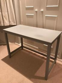 Ikea table/ desk painted dove grey