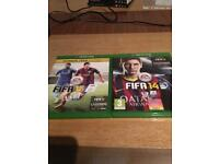 Fifa games XBOX ONE