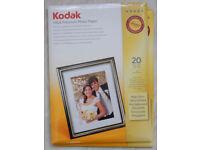 Kodak Ultra Premium Photo Paper: 38 x A4 sheets