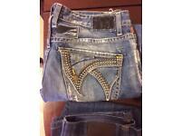 Robin USA, Emporio Armani, Jasper Conran branded Jeans