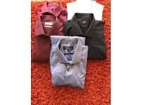 Men's shirts x 5 size 16/16.5
