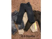 6-9/9-12 month clothing