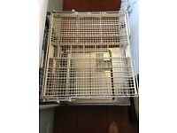 Miele full size free standing dishwasher in white. Excellent condition