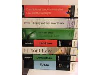 Complete set of law books / material, for GDL or 1st year law