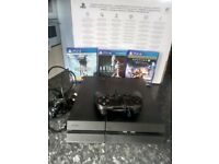 Playstation 4 1tb Boxed, 1 controller 3games