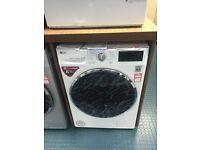 New Ex-Display LG FH4U2VCN2 9kg Direct Drive 5 Year Guarantee Washing Machine White £349