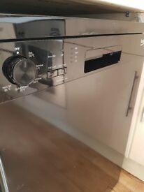 Brand new Beko black dishwasher