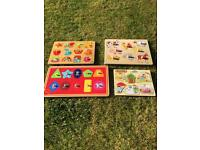 Wooden Puzzle Boards