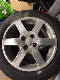 """Honda 15""""alloy wheels x4"""