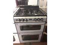 60CM SILVER STOVES GAS COOKER DUEL FUEL
