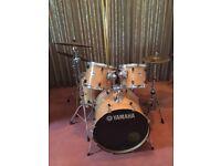 Yamaha Stage Custom beech acoustic drum kit
