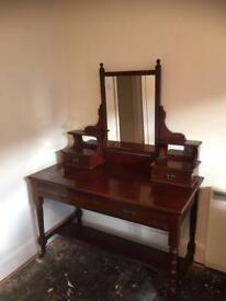 Victorian/Edwardian dressing table large