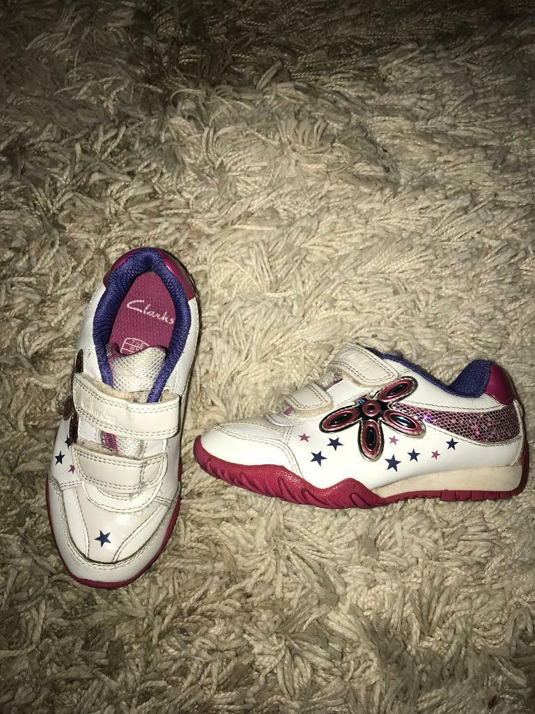Clark's size 7&1/2 girls trainers