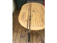 Ultimate-Revolution Carbon Fibre 2 Piece Carp Rod-12ft-In excellent condition.