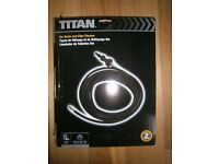 Titan 8 Metre Drain And Pipe Cleaner for Pressure Washer
