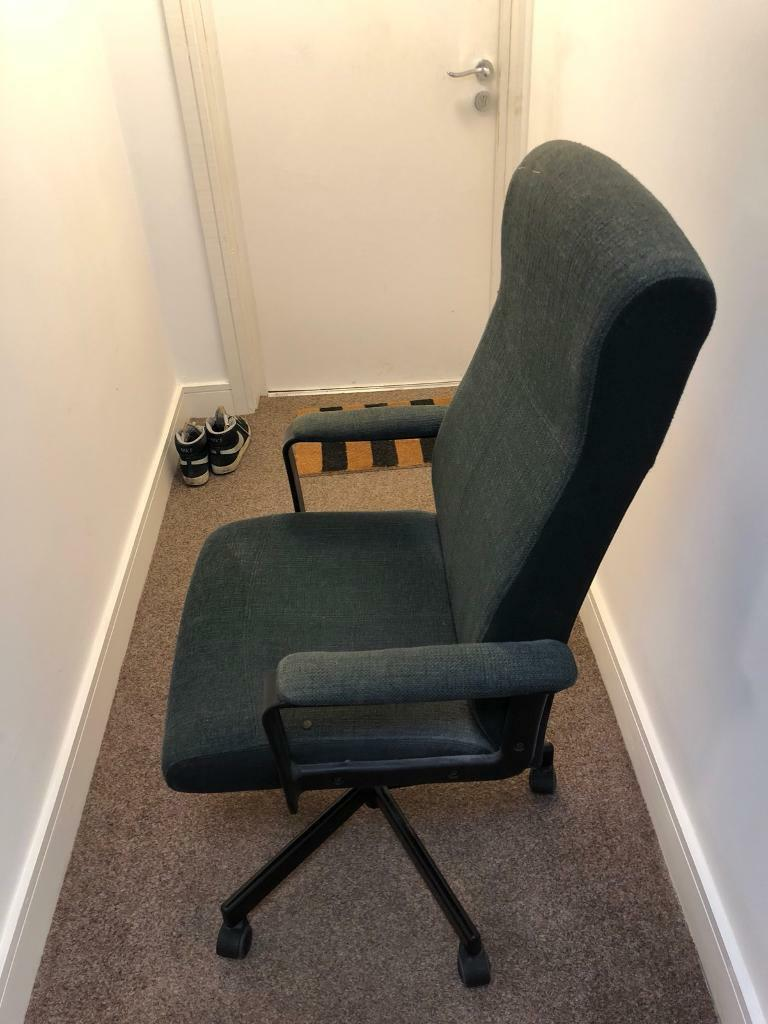 ikea malkolm swivel office chair in pontcanna cardiff gumtree