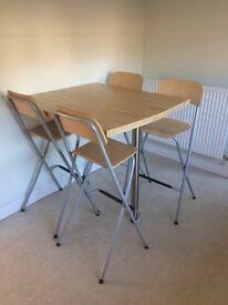 Breakfast Bar and 4 stools