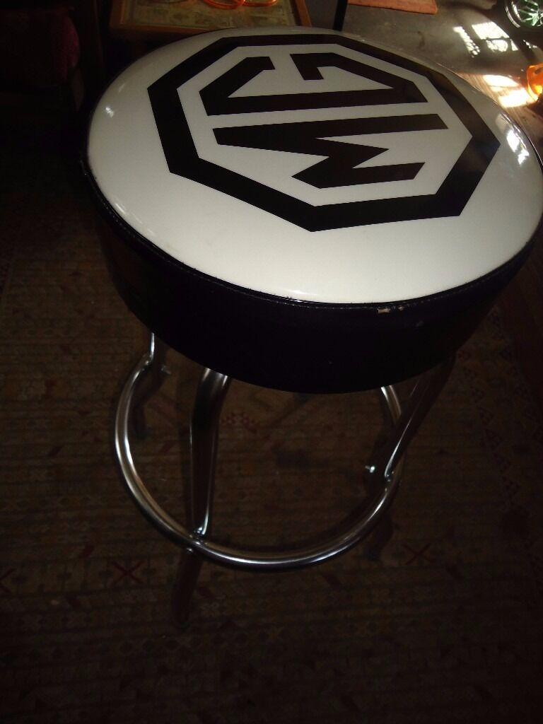 MG CUSTOM BAR STOOL - AS NEW
