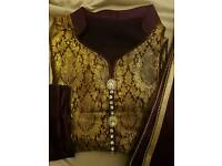 Salwar shalwar kameez Asian suit Indian pakistani