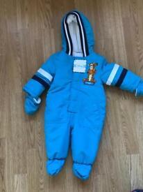 Tigger snow suit