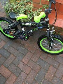 Kids Ben 10 mountain Bike . Never used store in garage kids Ben 10 bike
