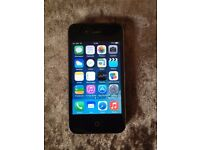 iphone 4, 32gb, black, on o2 giffgaff and tesco,