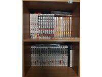 Manga Collection (Books cost around £2 - £5, More information below for price)