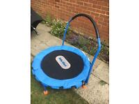 Little Tykes 3ft Junior Trampoline - blue - used