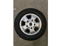 Ford Custom Alloy Wheels