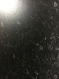 Everest black 4m kitchen worktop, pvc edge. Available in other sizes! Please see Description!