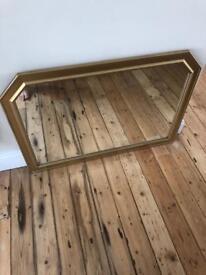 Vintage mirror W103 x H73cm