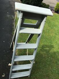 Pretty recycled step ladder