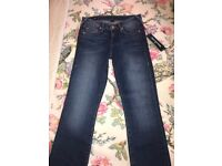 100% Authentic Women's Brand New True Religion Jeans Size 25