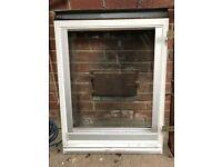 Velux GGL white, centre pivot window