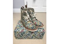 *Limited Edition* Liberty of London Print Dr. Marten Boots.